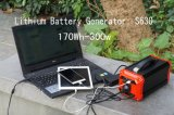 옥외를 위한 휴대용 태양 발전기 태양계 발전기 270wh