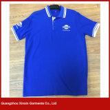 T-shirts en coton 100% coton en coton doux et de qualité supérieure avec boutons (P130)