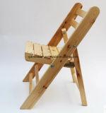Silla de plegamiento de los niños de madera sólida (M-X3053)