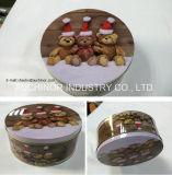 Rectángulo Nuevo-Diseñado del estaño de las galletas de Tchzco