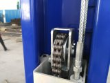 Levage hydraulique pratique de véhicule de plaque d'étage de deux postes