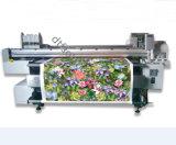 ロール綿織物のためのFdXc01デジタルのベルト式印書装置は印刷を指示する