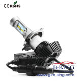 Fanless 4000lm/전구 H4 Philips 7g 차 LED 헤드라이트 장비