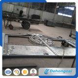 Grille multifonctionnelle résidentielle élégante de fer travaillé (dhgate-24)