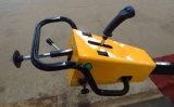 Double promenade de tambour derrière le mini petit rouleau de route vibratoire hydraulique