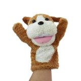 귀여운 아기 연약한 장난감 견면 벨벳에 의하여 채워지는 핑거 괴뢰 장난감