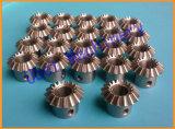 Engranajes de estímulo cilíndricos modificados para requisitos particulares del CNC pequeños