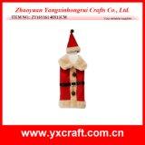 عيد ميلاد المسيح زخرفة ([ز14343-1-2-3]) جديدة عيد ميلاد المسيح لون راتينج تمثال صغير