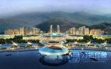 Городское правительство планируя Bird's-Eye перевод Visualization&#160 взгляда;