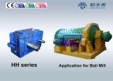 Caja de engranajes industrial de la trituradora paralela del eje con el sistema de enfriamiento