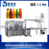 3 em 1 máquina de embalagem de engarrafamento de enchimento quente da bebida do suco