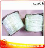 Collegare del riscaldamento della gomma di silicone del diametro 4mm 110V 20W/M