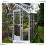 Alluminio verde di Housegarden della serra con la base