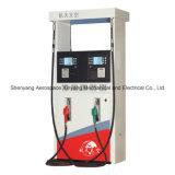 Erogatore del combustibile dell'erogatore del combustibile (due ugelli due pompe a ingranaggi due visualizzazioni della scheda chiave quattro)