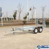 Пандус нагрузки двойного трейлера автомобиля Axle регулируемый (SWT-CT146)