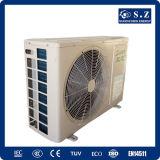 Hogar usar la pequeña pompa de calor barata para la calefacción y el enfriamiento del agua caliente doméstica