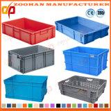 Caixa Foldable da modificação do transporte dos vegetais do recipiente de armazenamento da caixa plástica (Zhtb16)
