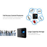 Автономный биометрический контроль допуска Fr-D86 с карточкой удостоверения личности
