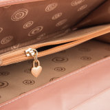 Бумажник способа вышивки нового портмона проверки створки портмона 3 повелительниц бумажника повелительниц длиннего корейский
