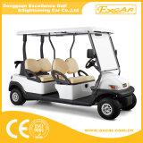 卸売の電気4つのシートのゴルフバギー