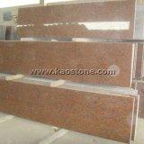 Mattonelle rosse G562 della Cina/naturali granito per il rivestimento parete/del pavimento