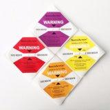 Etiquetas engomadas de la guía del daño de la logística de la calidad para el equipo de refrigeración