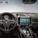 Porsche Macan 카이엔 Panamera 향상 접촉 항법, WiFi, Bt, Mirrorlink, HD 1080P를 위한 차 인조 인간 항법 영상 공용영역