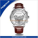 時間の表示316Lスチール・ケースのサファイアガラスの水晶動きの腕時計