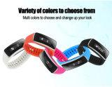 Braccialetto ispiratore V5s del Wristband variopinto del silicone di prezzi di fabbrica