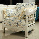 Ikea様式居間の家具(167#)のための高貴なファブリックソファー