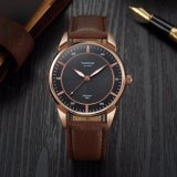 Relógio impermeável de quartzo do ponteiro luminoso novo do relógio dos homens de negócio da chegada H398 para homens