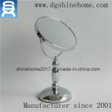 O espelho quente da composição do metal do projeto da venda, uma vaidade de 7 polegadas compo o espelho, espelho de ampliação da composição da vaidade 1X/5X