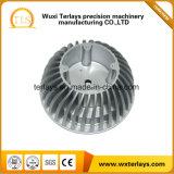 Die Soem-Präzision, die Aluminium ist, Druckguss-Teil für die LED-Lichter, die mit Bescheinigung ISO/Ts16949 unterbringen