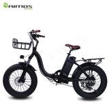 """20 """"小型フォールドの電気バイクのための電気フォールドのバイクの後部モーター電気自転車"""