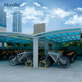 Y het Dak Carport van het Polycarbonaat van de Vorm voor het Parkeren van de Auto