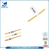 Kundenspezifischer anhaftender Druck-Garantie-Kabel-Aufkleber