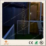 Het creatieve Licht van de Boom van pvc van de Decoratie van Kerstmis met Kleine Bal