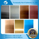 装飾のための304のカラーステンレス鋼のシートそして版無しの。 4の表面Hlの