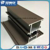 Het bruine Materiaal van de Sjerp van het Profiel van het Aluminium van de Kleur voor het Thermische Venster van de Onderbreking