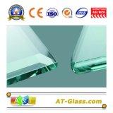 8~12mm Gehard glas Aangemaakt die Glas voor Badkamers/Meubilair/Omheining, enz. wordt gebruikt