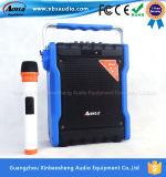 Altavoz verde del ejército con el altavoz activo al aire libre de la tarjeta del USB TF de Bluetooth FM