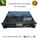 SanwayデジタルDSPのタッチ画面が付いている可聴周波電力増幅器