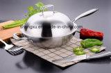 18/10 Wok Cookware нержавеющей стали китайских варя сковороду (SX-WO32-13)