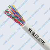 높은 Quality 24AWG Copper Indoor Telephone Cable