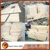 Pierres de marbre poli brillant Breka Brick Grandes dalles pour mur