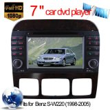 Car Audio für M. Benz S-W220 DVD-Navigation mit TMC DVD-T iPod (HL-8800GB)