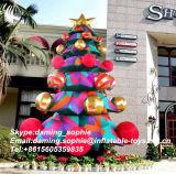 arbre de Noël 17feet gonflable pour la promotion d'extérieur
