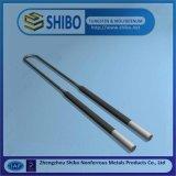 Fabricación profesional varia forma MoSi2 elemento de calefacción, molibdeno disilicio varilla
