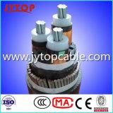 3つのコアのLVおよびMvの電線、3coreケーブル