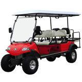Azzurro ibrido del carrello di golf di impianto elettrico del generatore 4+2seat (Del2042D2z-H)